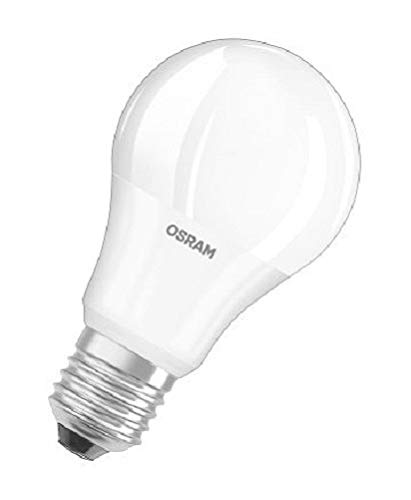 Osram LED Star Classic A Lampe, in Kolbenform mit E27-Sockel, nicht dimmbar, Ersetzt 40 Watt, Matt, Warmweiß - 2700 Kelvin, 6er-Pack