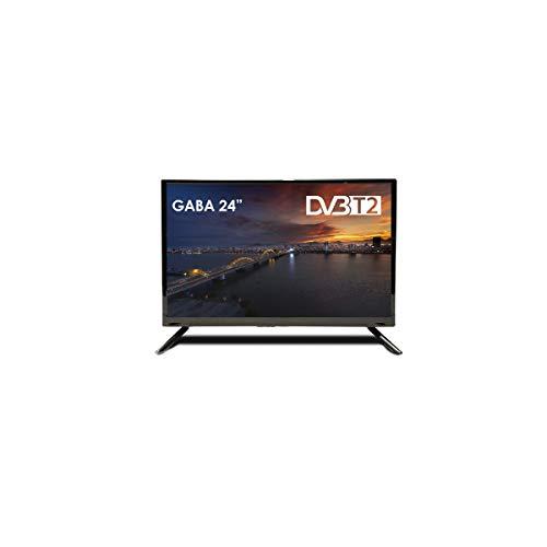 Televisión GABA by BSL 24 Pulgadas | Full HD con DVBT-2 | Clase Energética A.