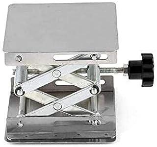 Laboratory Jack, Stainless Steel Mini Lift Table, Small Lift Table, Advanced Adjustment of Experimental Equipment 100 * 10...