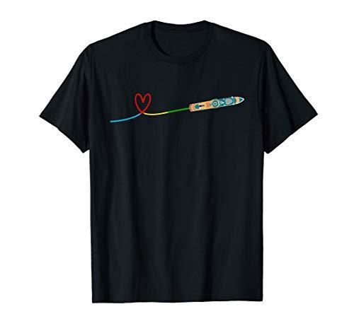 Kreuzfahrtschiff Herz - Kreuzfahrt-Fans mit Lust auf Meer T-Shirt