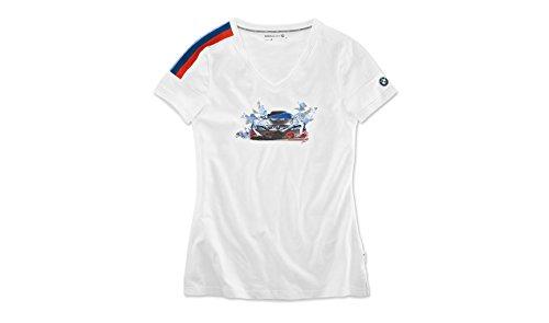 BMW Original Motorsport T-Shirt Damen Motion Shirt Sportlichem Ausschnitt (L)