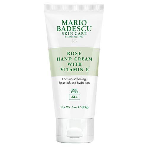 Mario Badescu Rose Hand Cream with Vitamin E 3 oz