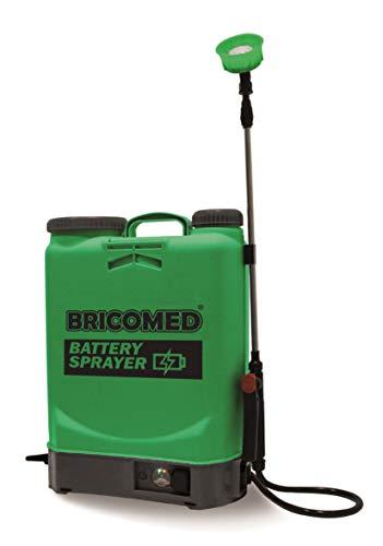 Bricomed PULVERIZADOR Mochila BATERIA 16L. Battery Sprayer