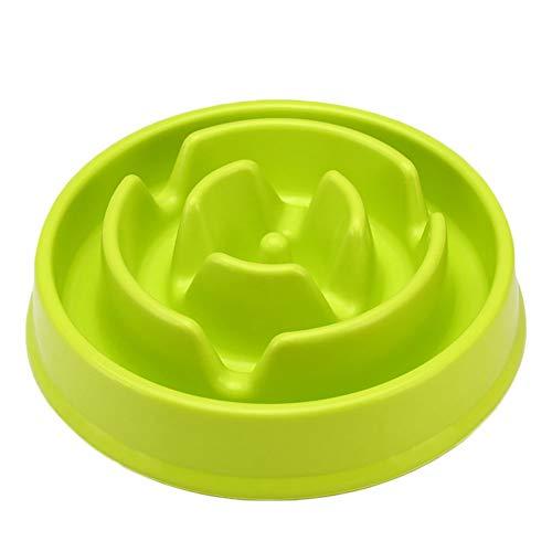 qazxsw 1 PCS Pet Supplies Pet Bowls Slow Feeder Dog Bowl Slow Eating Dog Bowl Slow Pet Food Bowl for Dogs and Cats (Random Color)