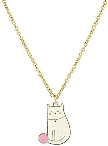 ZHIFUBA Co.,Ltd Collares Pendientes Lindos Dulces románticos de la Moda del Collar para el Ornamento del Cuello