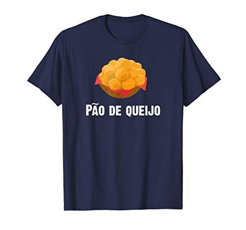 Pao de Queijo Brazilian T-Shirt Cheese Bread