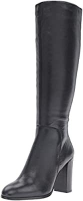 Kenneth Cole New York Women's Justin Engineer Boot, Black, 8 M US