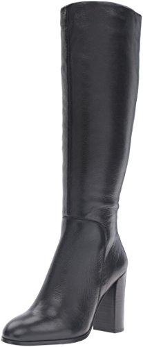 Kenneth Cole New York Women's Justin High Heel Knee Boot, Black, 7.5 M US