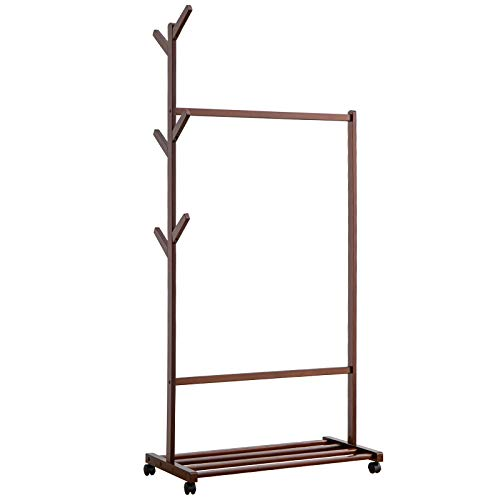 Home Basics Pine Over-the-Sink Shelf, Storage Rack for Kitchen Accessories, Multi-purpose Shelf, Natural