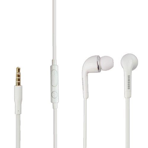 Samsung SAMHW4 - Auricolari in-ear originali per Samsung I9295 Galaxy S4 Active, jack da 3,5 mm, colore: Bianco