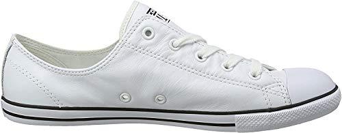 Converse Damen Ct Dainty Ox Blk Fitnessschuhe - Weiß (White 100) , 42 EU