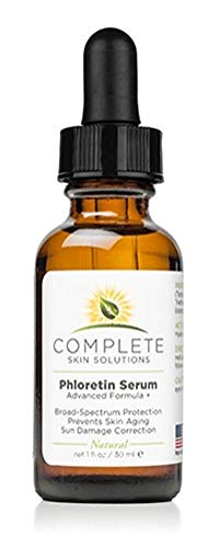 Phloretin Serum Advanced Formula (1 oz) | Anti-Aging Compound with Antioxidants, Vitamin C, Ferulic and Hyaluronic Acid | Reduces Fine Lines and Age Spots