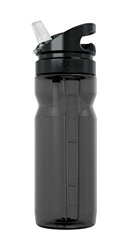 Zefal Trinkflasche Trekking 700, Black Smoke, 10 x 10 x 15 cm