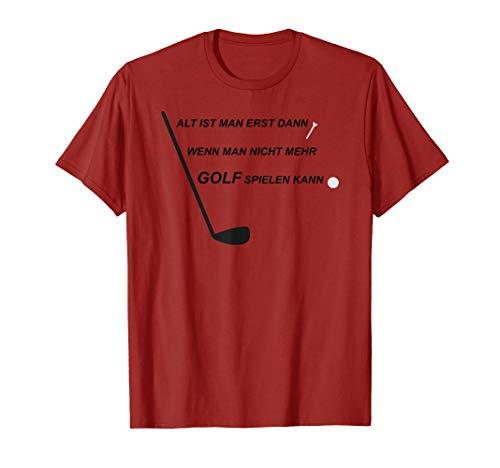 Golfer Golfspieler Golfschläger Golfball Golf Tee T-Shirt