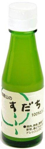 100%ピュア果汁 すだち 100ml×15本 瓶
