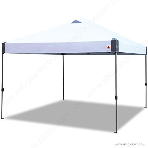 ABCCANOPY Canopy Tent Easy Pop Up Canopy Portable Instant Canopy Tent with Sun Wall