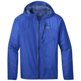 Outdoor Research Men's Helium Rain Jacket Azure