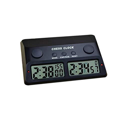 GUOTU Reloj de ajedrez Digital   Temporizador de ajedrez Personalizable para torneos Profesionales   También es Ideal para Scrabble, Shogi, Go y Otros Juegos de Mesa competitivos.