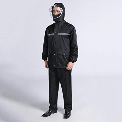 Liyin Tarpaulin Waterdicht, voor heren, licht, ademend, waterdicht, winddicht, waterdicht, regenbroek, kostuum voor motorfiets, golf / vissen