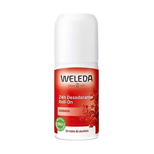Weleda DUPLO Desodorante Roll On 24H Granada, 2x50ml
