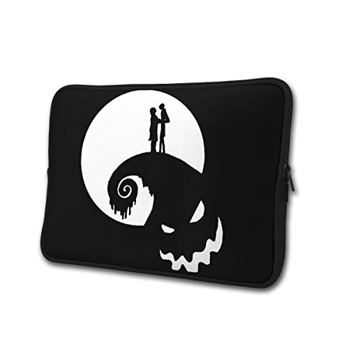 Neoprene Computer Pouch Case Nightmare Before Christmas Fashion Laptop Sleeve Bag for 13-15' Inch Laptop Computer Designed to Fit Any Laptop/Notebook/Ultrabook/MacBook