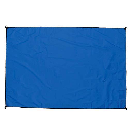 Velas De Sombra Toldo Impermeable del Refugio De La Lluvia De La Sombrilla De La Lona De La Tienda De Campa?a Al Aire Libre (Size:210 X 150cm; Color:Blue)