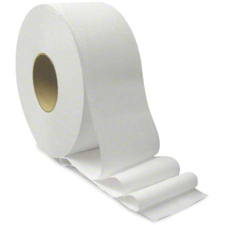Von Drehle Base Line 2-Ply Jumbo Bath Outlet ☆ Topics on TV Free Shipping x Rol - Tissue 1000' 3.15