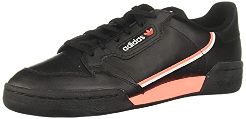 adidas Originals Continental 80, Zapatillas Deportivas. Hombre, Plateado metálico y Cristal Blanco, 40 2/3 EU
