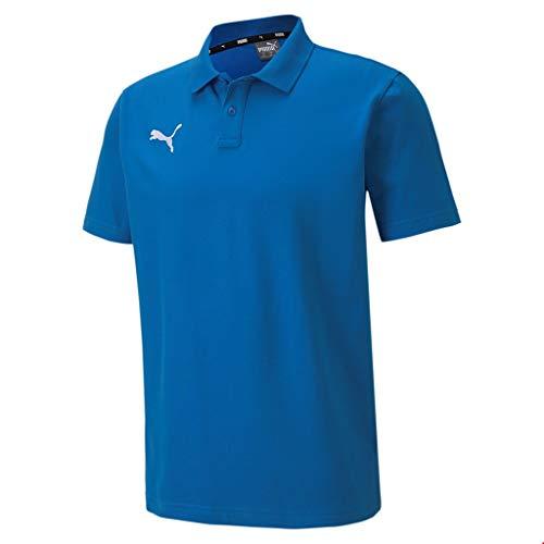 PUMA Herren, teamGOAL 23 Casuals Polo Poloshirt, Electric Blue Lemonade, XL