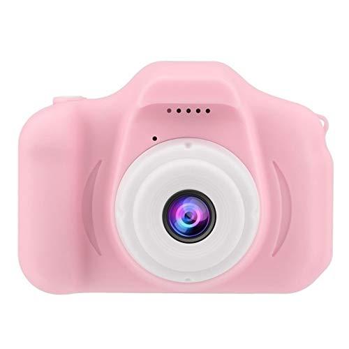 EVANA Cámara para Niños 12MP Selfie Cámara Digital 1080P HD Video Cámara Infantil 2.0 LCD Batería Recargable Regalos Juguete (Rosado)