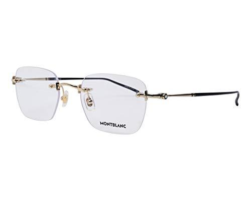 Gafas de Vista Mont Blanc MB0130O Gold 53/21/145 hombre