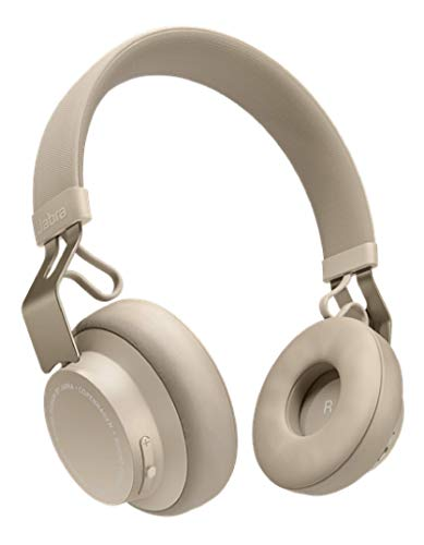 Jabra Move Style Edition, Beige – Wireless Bluetooth Headphones with Superior Sounds Quality, Long Battery...