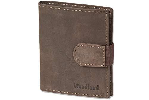 Woodland® Super-Kompakte Geldbörse mit XXL-Kreditkartentaschen für 18 Karten ...
