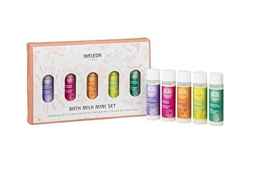 WELEDA(ヴェレダ)バスミルクミニセット入浴剤5つの香り20mL(2回分)×5本