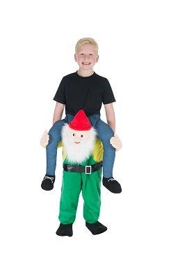 Monster Jam Zwerg Gartenzwerg Huckepack Trag Mich Reiter Kinder Kostüm