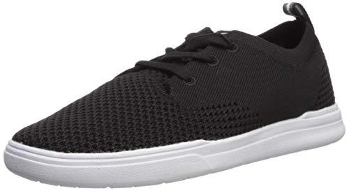 Quiksilver Men's Shorebreak Stretch Knit Sneaker, Black/Black/White, 6(39) M US