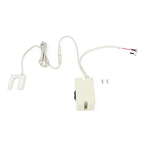 Akozon Lampadina per Macchina da Cucire 0,5W Luce LED Regolabile Lampada da Tavolo a Luce LED da Lavoro con a Base Magnetica