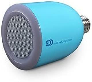 SHOWERDOORDIRECT.COM BTLBS-BU Bulbtunes-Led Light Bulb with Bluetooth Speaker, Blue