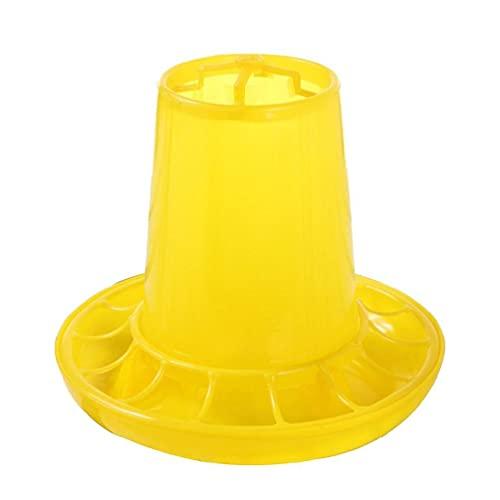 NA Kuiken Feeder Plastic Kip Feeder 1 Kg/2 Lbs Capaciteit Voedsel Dispenser voor Vogels Kleine Pluimvee Voedingsapparatuur Baby Chick Waterer en Feeder voor Brooder Klein