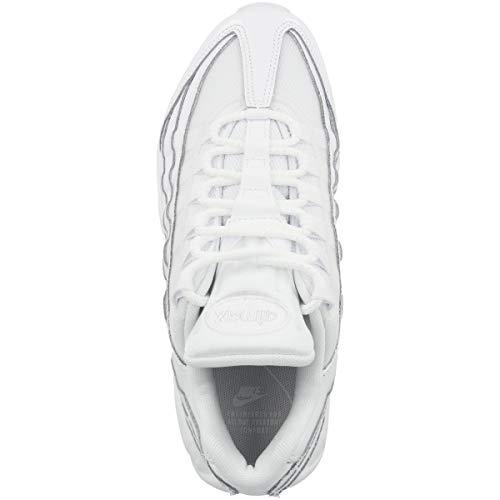 Nike Air MAX 95, Zapatillas de Gimnasia Mujer, Blanco (White/White/White 108), 38 EU