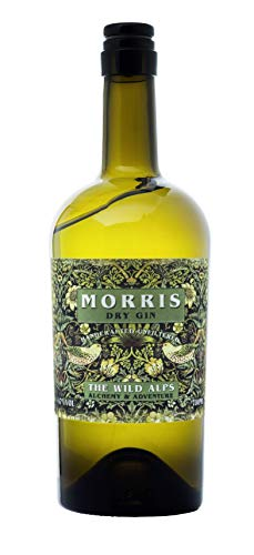 MORRIS DRY GIN (1.5) Alpine London Dry Gin small batch distilled in THE WILD ALPS DISTILLERY