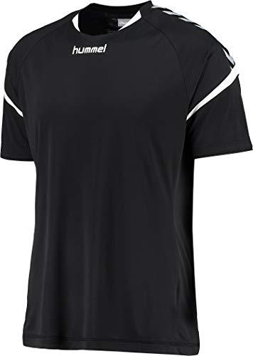 hummel Kinder Auth. Charge Short Sleeve Poly Jersey Trikot,schwarz(Schwarz),104