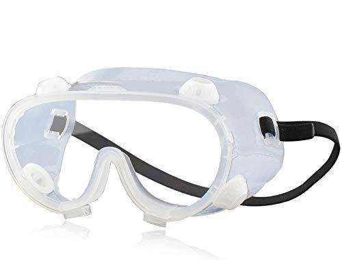 TAPCET Gafas Protectoras, de alta definición, protección para los ojos, Gafas de Seguridad compatibles con gafas, adecuadas para carpinteros, se pueden usar en la fábrica