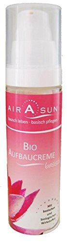 Aufbaucreme basisch bio Basencreme ohne Glycerin, ohne Sulfate, ohne Emulgator, ohne Silikon, ohne Konservierungsstoffe - 50 ml