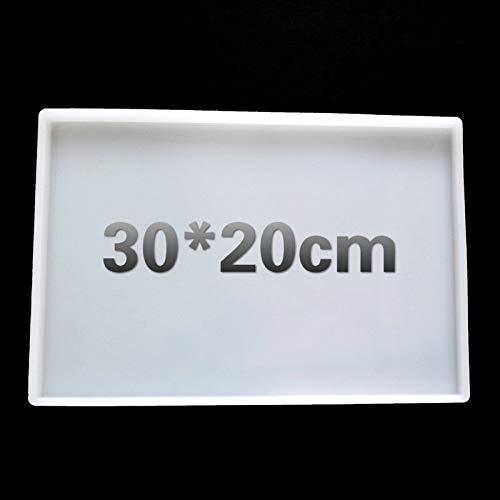Posavasos cuadrados de silicona SFFSMD, tamaño grande, molde de resina para hacer manualidades con resina epoxi