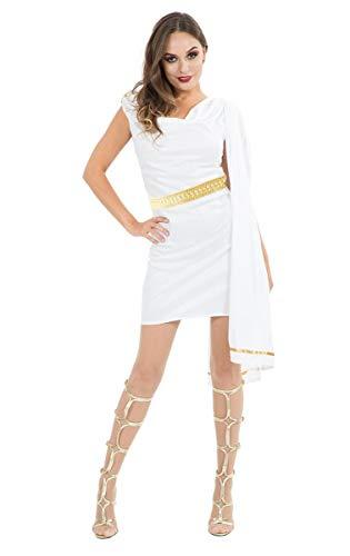 ORION COSTUMES Déguisement Adulte Costume Femme Toge Femme Romaine