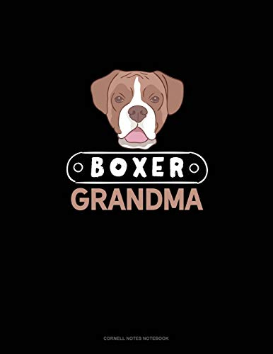 Boxer Grandma: Cornell Notes Notebook