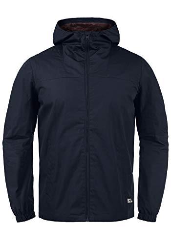 !Solid Tolden Herren Softshell Jacke Funktionsjacke Übergangsjacke mit Kapuze, Größe:L, Farbe:Insignia Blue (1991)