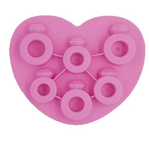 BYFRI EIS-würfel-behälter-silikon-EIS-Ring-formschokoladenform Für Gefrorenes EIS Pudding-gelee-süßigkeit-Party