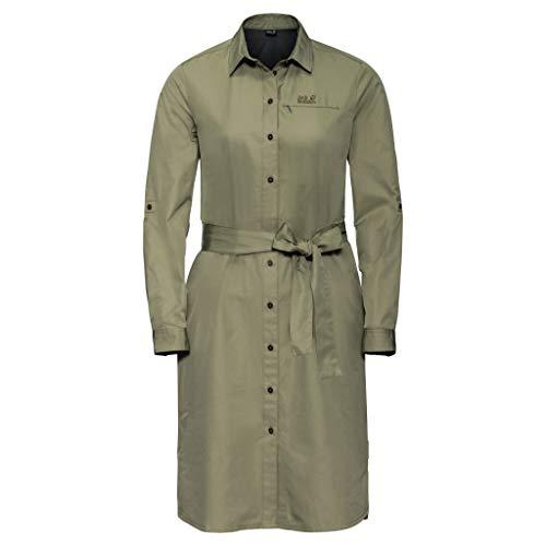 Jack Wolfskin Lakeside Robe Femme Khaki FR: 2XL (Taille Fabricant: XXL)